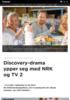 Discovery-drama ypper seg med NRK og TV 2