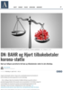DN: BAHR og Hjort tilbakebetaler korona-støtte