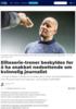 Eliteserie-trener beskyldes for å ha snakket nedsettende om kvinnelig journalist