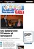 Erna Solberg hyllet LO-lederen på bursdagsfest