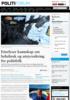 Etterlyser kunnskap om beltebruk og utstyrssikring for politifolk