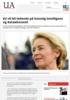 EU vil bli ledende på kunstig intelligens og dataøkonomi