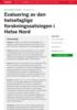 Evaluering av den helsefaglige forskningssatsingen i Helse Nord