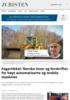 Fagartikkel: Norske lover og forskrifter for høyt automatiserte og mobile maskiner