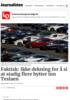 Faktisk: Ikke dekning for å si at stadig flere bytter inn Teslaen
