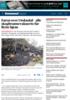 Faren over i Sokndal - alle skogbrannevakuerte får flytte hjem