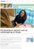 FHI-direktøren advarer mot ny nedstengning av Norge
