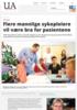 Flere mannlige sykepleiere vil være bra for pasientene