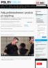 Følg politistudenten i praksis på oppdrag