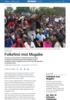Folkefest mot Mugabe