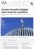 Forsker foreslår boliglån uten rente for muslimer