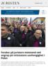 Forsker på juristers motstand ved angrep på rettstatens uavhengighet i Polen