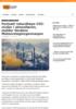Fortsatt rekordhøye CO2-nivåer i atmosfæren, melder Verdens Meteorologiorganisasjon