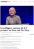 Frontfagets ramme på 2,7 prosent er ikke nok for Unio