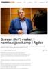 Grøvan (KrF) vraket i nominasjonskamp i Agder