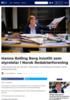 Hanna Relling Berg innstilt som styreleiar i Norsk Redaktørforening