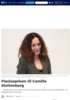 Hedret for sin åpenhet: Flaviusprisen til Camilla Stoltenberg