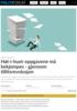 Høl-i-huet-oppgavene må bekjempes - gjennom tillitsrevolusjon