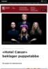 Hotel Cæsar beklager puppetabbe