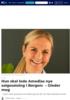 Hun skal lede Amedias nye salgssatsing i Bergen: - Gleder meg