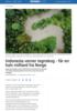 Indonesia verner regnskog - får en halv milliard fra Norge
