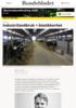Industrilandbruk = biosikkerhet