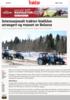 Internasjonalt traktor-biathlon arrangert og vunnet av Belarus