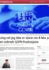 «Jeg vet jeg ikke er alene om å føle på en utbredt GDPR-frustrasjon»