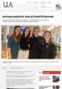 Jenteprosjektet Ada på bedriftsbesøk