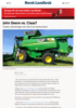 John Deere vs. Claas?