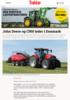 John Deere og CNH leder i Danmark