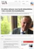 KI-rektor advarer mot hardt debattklima i den svenske koronadebatten