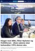 Klager mot NRK, Filter Nyheter og Politiforum - disse sakene skal behandles i PFU denne uka