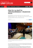 Klart for ny duell for rektorkandidatane i Akademisk forum