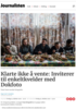 Klarte ikke å vente: Inviterer til enkeltkvelder med Dokfoto