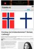 Korstog mot kristendommen? Seriøst, Listhaug?