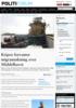 Kripos forventer migrantøkning over Middelhavet