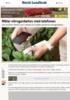 Måler nitrogenbehov med telefonen