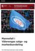 Mannefall i Vålerengas salgs- og markedsavdeling