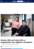 Matias (35) og Tanja (45) er Dagbladets nye digitale vaktsjefer