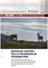 Mattilsynet: bekreftet funn av skrantesjuke på Hardangervidda
