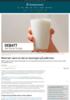 Melk bør være en del av løsningen på jodkrisen