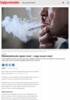 Middelaldrende røyker mest - unge snuser mest