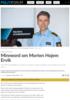 Minneord om Morten Hojem Ervik