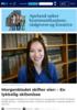 Morgenbladet skifter eier: - En lykkelig skilsmisse