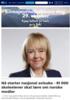 Nå starter nasjonal avisuke - 91 000 skoleelever skal lære om norske medier