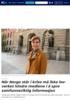 Når Norge står i krise må ikke lovverket hindre mediene i å spre samfunnsviktig informasjon