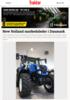 New Holland markedsleder i Danmark