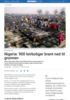 Nigeria: 900 leirboliger brant ned til grunnen