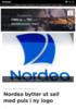 Nordea bytter ut seil med puls i ny logo